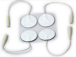 small round electrodes